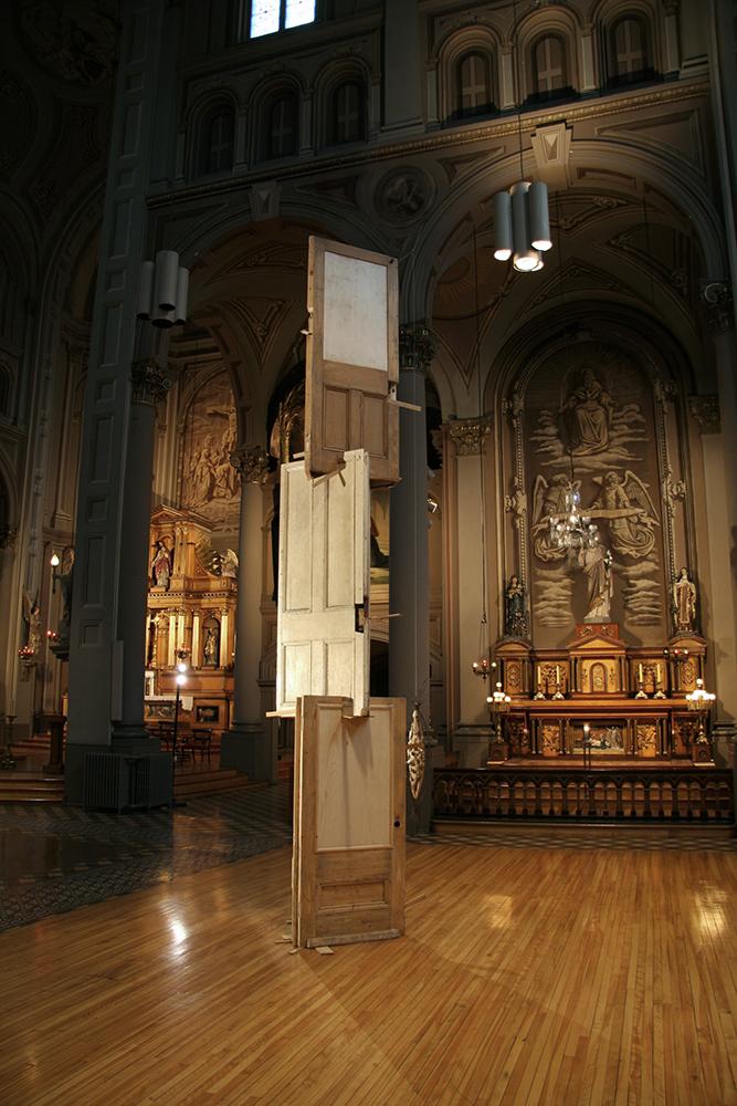 Victime, installation église du GÉSU