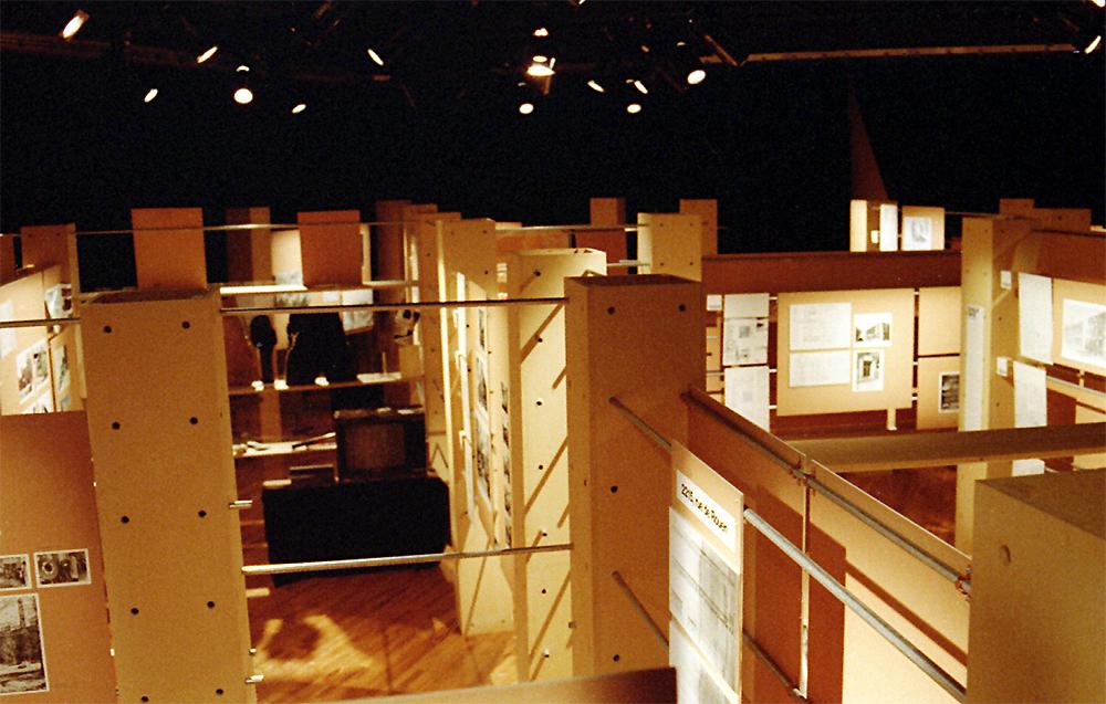 Design d'exposition, Écomusé du Fier Monde, Montréal