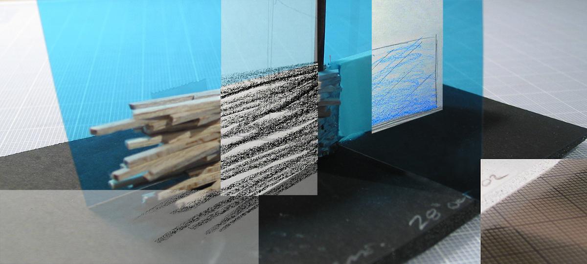 Illustration, Passage; vent d'hiver. Installation faculté aménagement, UDM