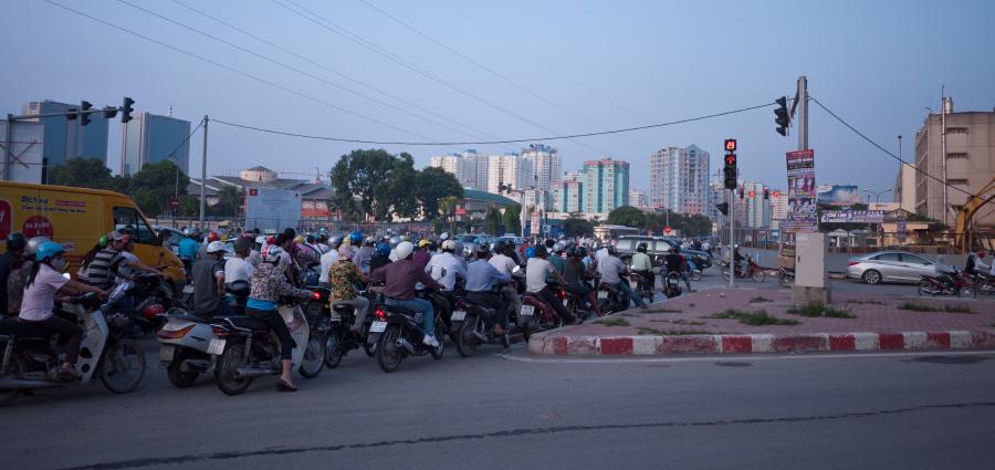 Heure de pointe, Hanoi