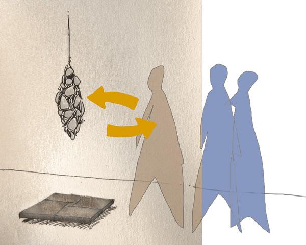 Schéma d'interaction, projet des Lampas